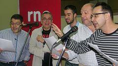 Radiopasión - Juan Ramón Lucas y su equipo cantan en 'Radiopasión 2008' - 19/12/08