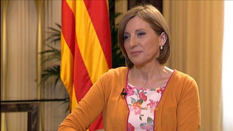 Aquí Parlem - Entrevista a Carme Forcadell, presidenta del Parlament de Catalunya