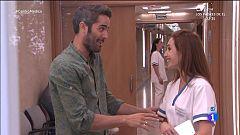 Centro médico . Roberto Leal visita nuestras urgencias