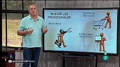 A punto con La 2 - Bricolaje - Hacer un circuito de agility y cómo regular las puertas de armario
