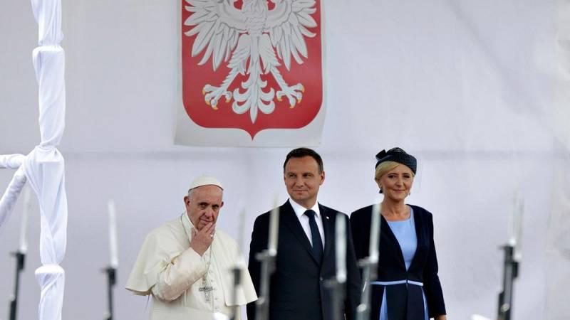 Las elevadas medidas de seguridad marcan el viaje del papa Francisco a Cracovia