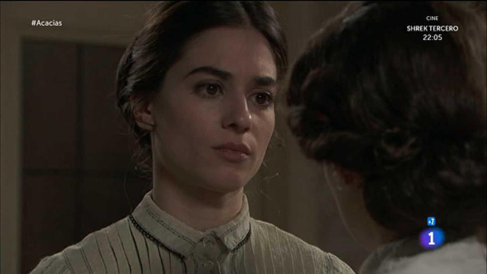 Celia le dice a Teresa que no puede ser la amante de Mauro