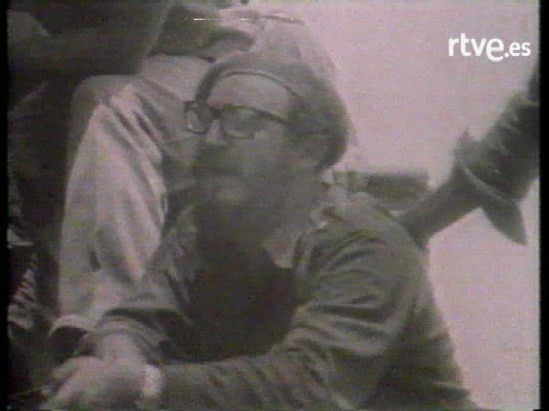 Fidel Castro dirige las operaciones militares contra el desembarco en la bahía de Cochinos