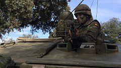 Trabajo Temporal - Berta Collado realiza un simulacro militar