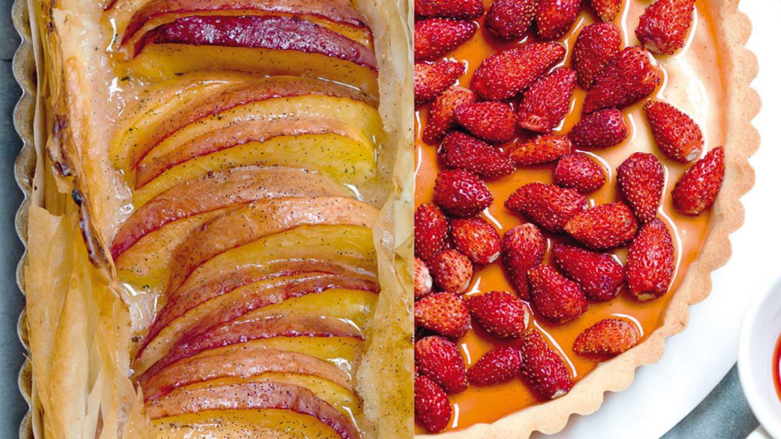Sólo en agosto, Saber Cocinar viene con una promoción especial, 'Tartas con frutas'