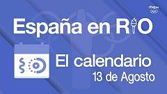 España Río 2016 - 13 de agosto