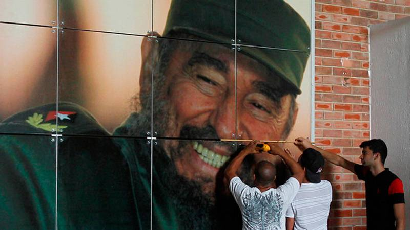 Homenaje a Fidel Castro en Cuba
