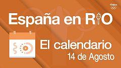 España en Río - 14 de agosto