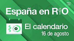 España en Río - 16 de agosto