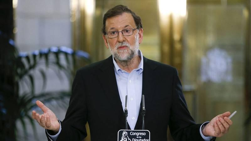 Mariano Rajoy se someterá al debate de investidura el 30 y 31 de agosto