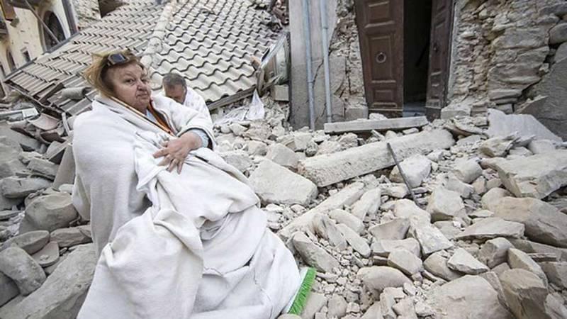 El seísmo de Italia ha dejado sin casa y sin futuro a muchos habitantes de la zona
