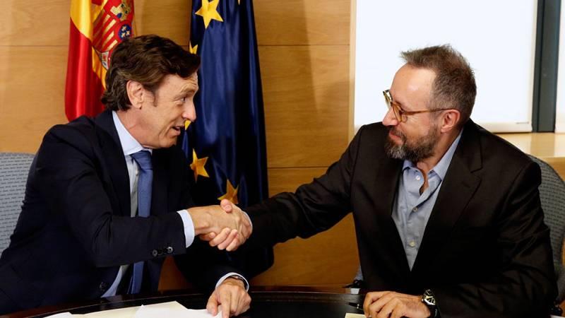 Cronología del acuerdo entre PP y Ciudadanos