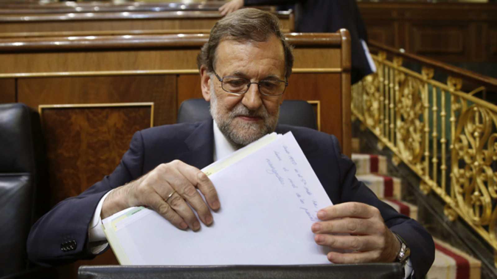 Rajoy fracasa en la primera votación por mayoría absoluta y habrá nueva votación el próximo viernes