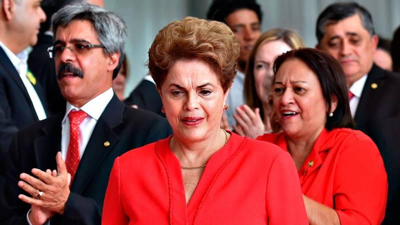 Dilma Rousseff es destituida como presidenta de Brasil