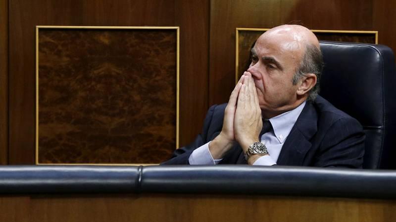 La oposición forzará que el Congreso cite a Guindos para explicar el nombramiento de Soria en un pleno extraordinario