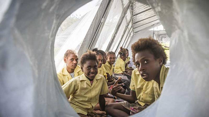 Cincuenta millones de niños de todo el mundo han tenido que huir de sus hogares por el hambre o la violencia