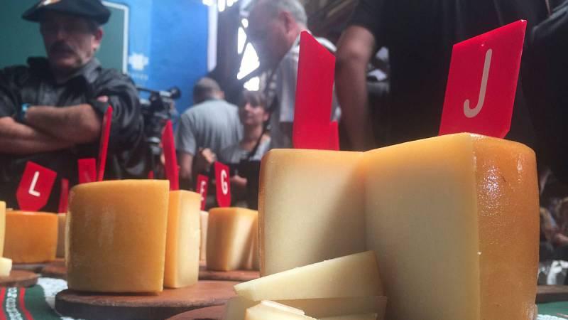 8.000 euros ¡por medio queso Idiazábal!