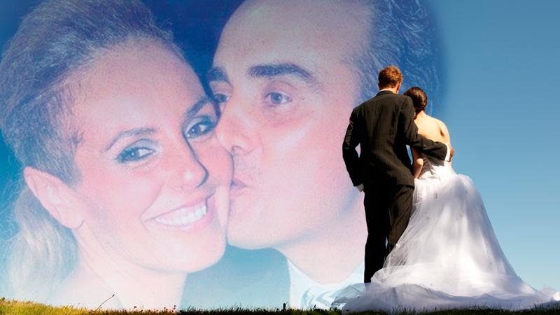 Así ha sido la boda de Rocío Carrasco y Fidel Albiac