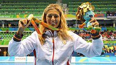Michelle Alonso, oro en el 100 braza SB14