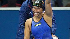 Teresa Perales, la española más laureada, se lleva cuatro medallas de Río