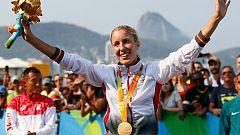España logra tres medallas en maratón