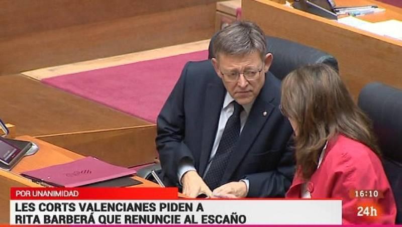 Parlamento - Otros parlamentos - Les Corts piden a Barberá que dimita - 17/09/2016