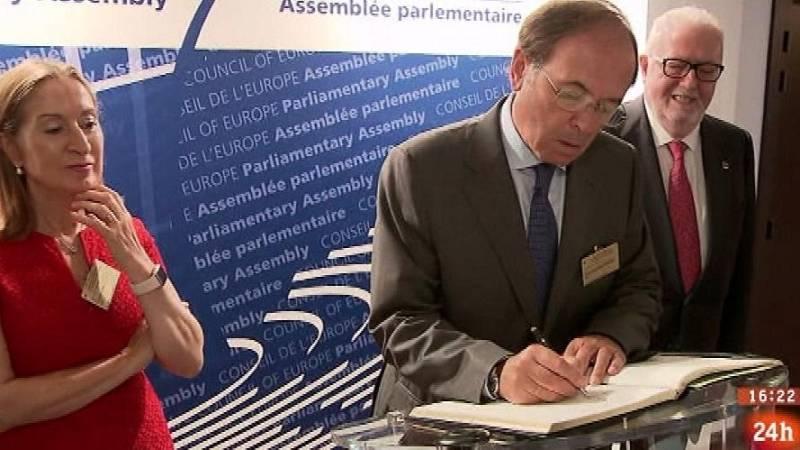 Parlamento - Conoce el parlamento - Conferencia de parlamentos en el Consejo de Europa - 17/09/2016