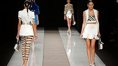 En la semana de la moda de Madrid  ha sido el turno de Second Skin y Felipe Varela