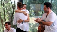 Corazón - Chenoa y Bisbal: El abrazo del reencuentro