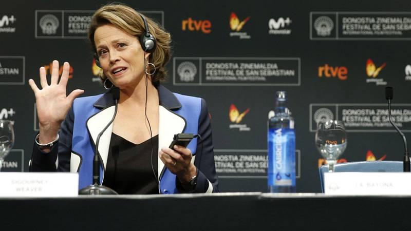 Sigourney Weaver, Premio Donostia por el conjunto de su trayectoria en el Festival de cine de San Sebastián