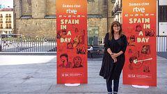 """Telediario 1 - Coixet: """"Si viene un marciano, puede saber cómo son los españoles viendo 'Spain in a day'"""""""