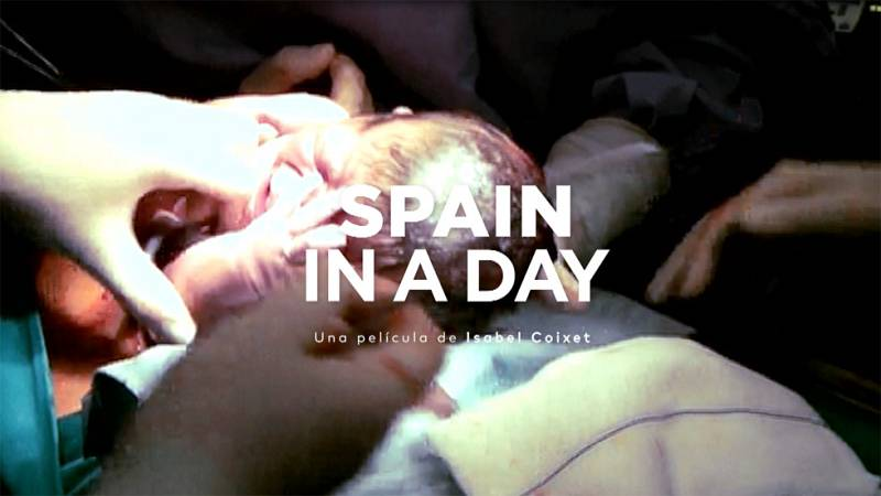 Un nacimiento en 'Spain in a day'