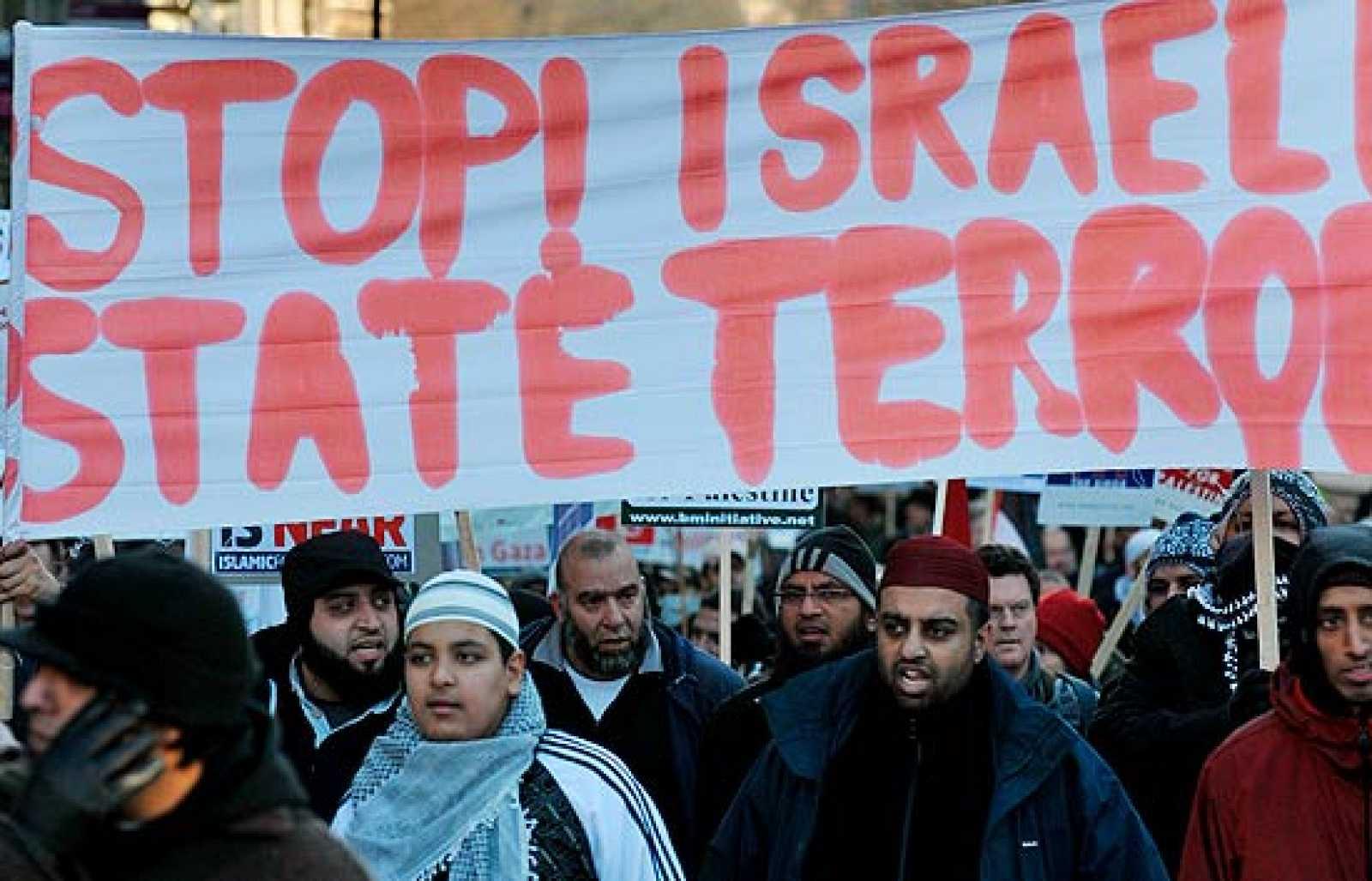 Las protestas contra el ataque a Gaza se extienden