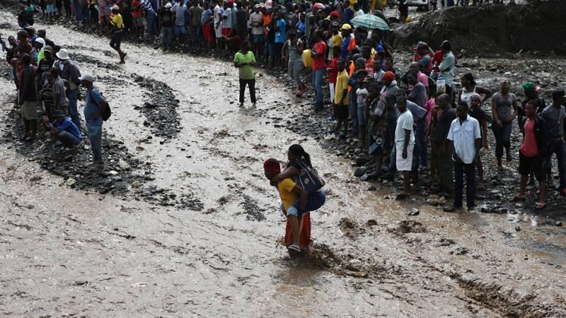 El huracán Matthew llegará a EE.UU tras pasar por Bahamas y devastar Haití
