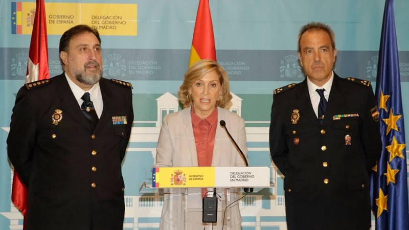 La policía detiene en Madrid a 7 miembros de la banda latina 'Trinitarios' por presunto asesinato