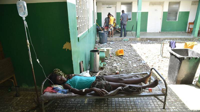 El cólera amenaza a la población de Haití tras el paso del huracán Matthew
