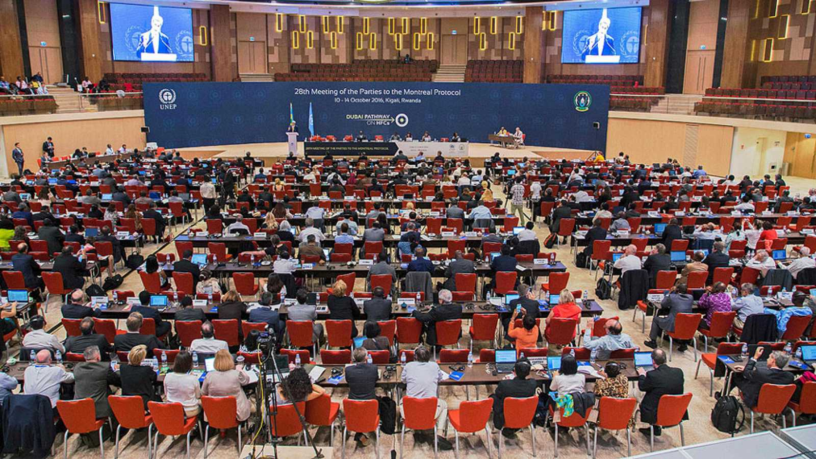 Cerca de 200 países acuerdan en Kigali la eliminación progresiva de los gases HFC