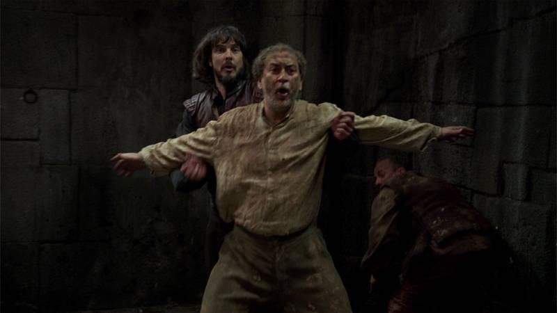 Águila Roja - Cipri muere para salvar a Gonzalo