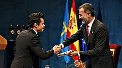 Gómez Noya recoge el premio Princesa de Asturias