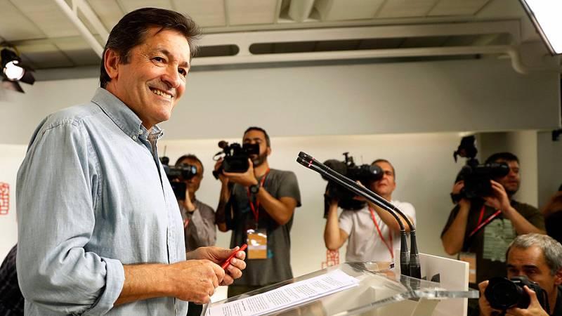 """Javier Fernández advierte que la abstención es un """"imperativo"""" para todos los diputados"""