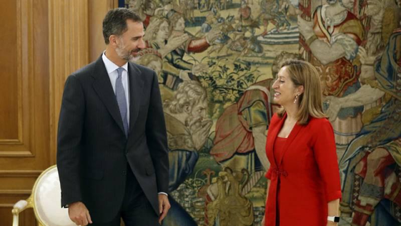 Pastor convoca el debate de investidura de Mariano Rajoy para este miércoles