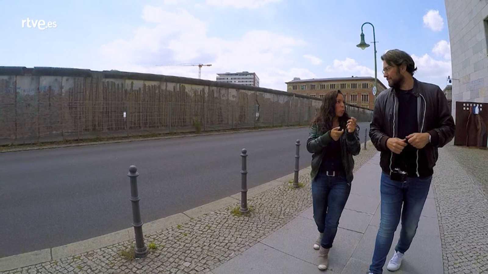 Destinos de película en Berlín. El muro