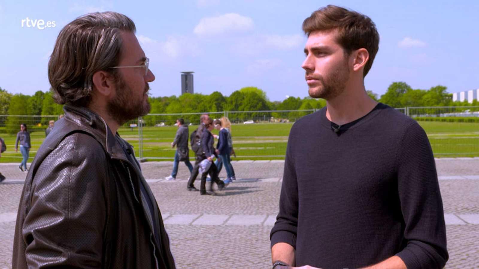 Destinos de película en Berlín. Entrevista Álvaro Soler