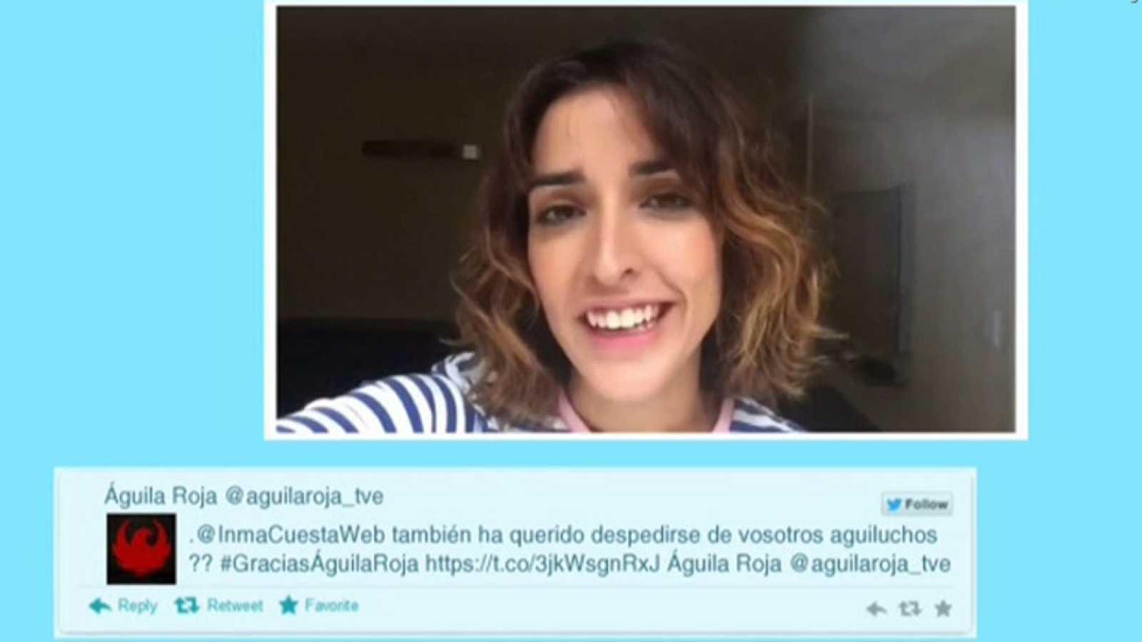 Inma Cuesta, David Janer, Francis Lorenzo y Miriam Gallego se han despedido de los fans de Águila Roja al final de un emotivo videoencuentro organizado por RTVE.es con motivo del final de la serie.