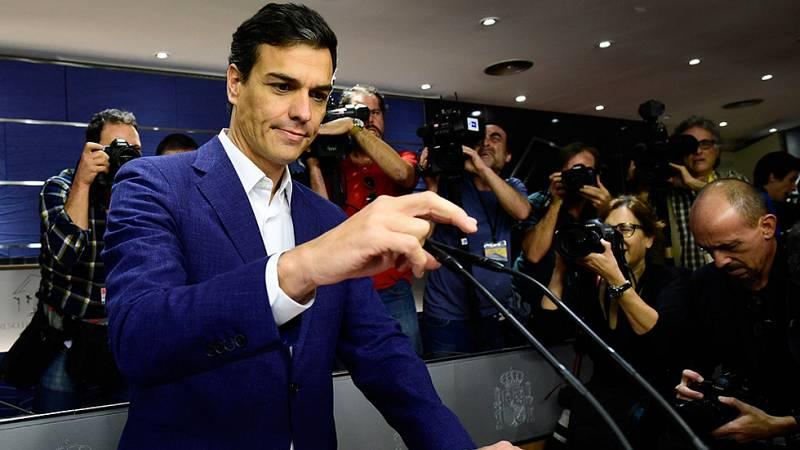 Pedro Sánchez renuncia a su acta de diputado