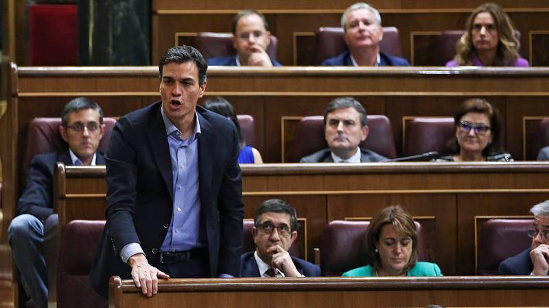 """Pedro Sánchez, el abanderado del """"no es no"""" a Rajoy"""