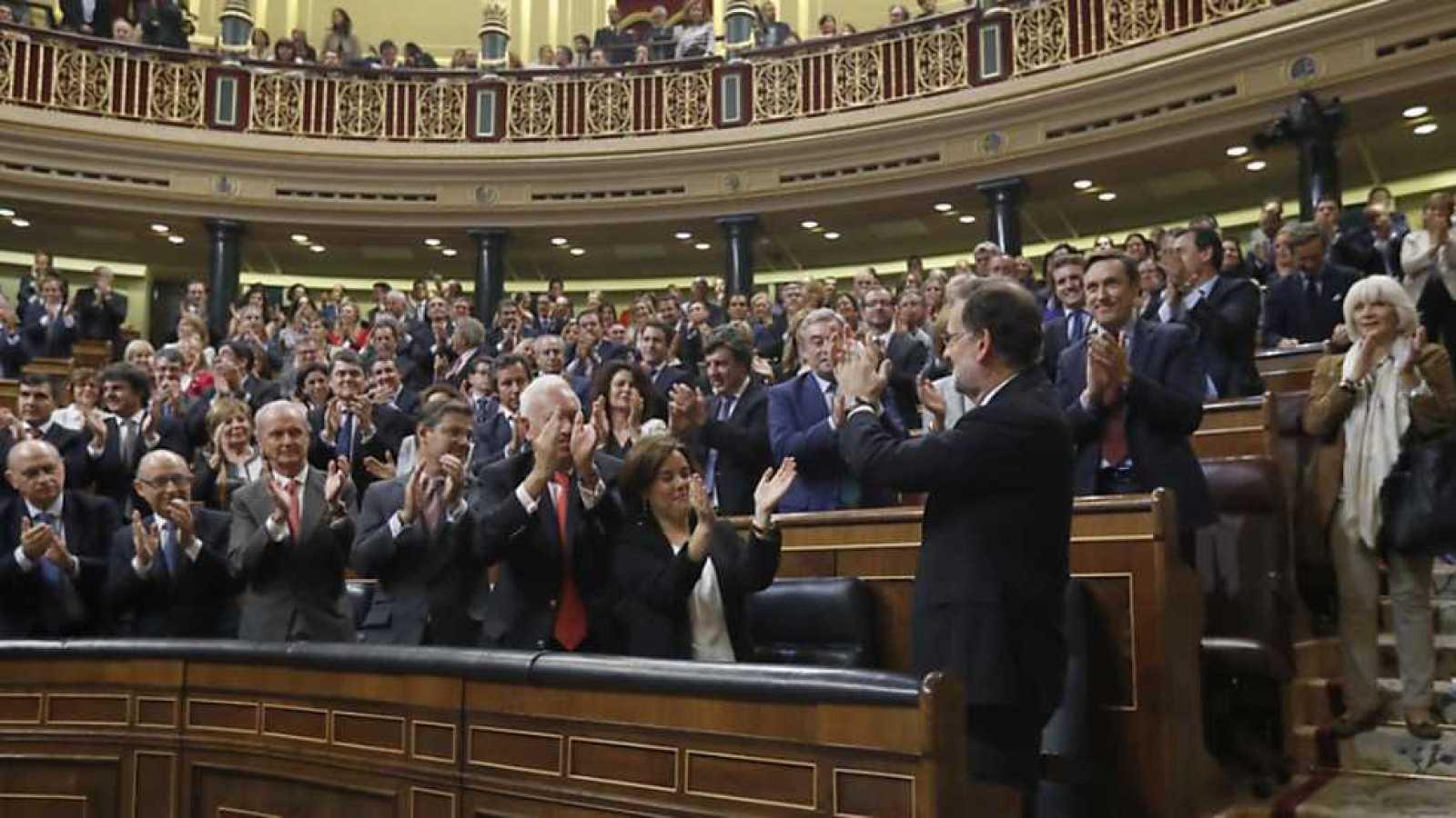 Especial informativo - Segundo Debate de investidura de Mariano Rajoy  - 29/10/16 - ver ahora
