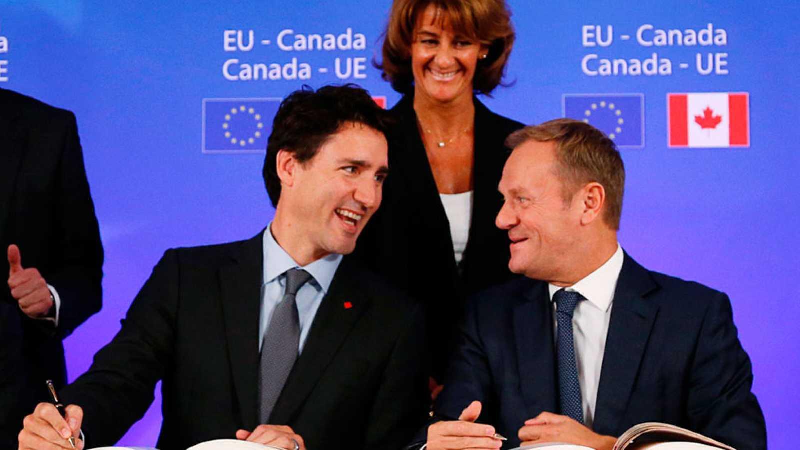 La Unión Europea y Canadá cierran el acuerdo comercial conocido como CETA