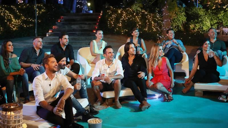 Nina repasa con los exconcursantes alguno de los momentos más cómicos del programa.ristian Castro sobre las desventajas de eyacular antes de un concierto.