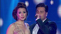 OT. El reencuentro - Gisela y Bustamante cantan 'Vivo por ella' en el concierto de OT